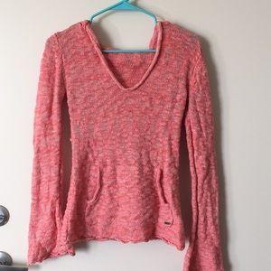 Pink Roxy Light Weight Hoodie